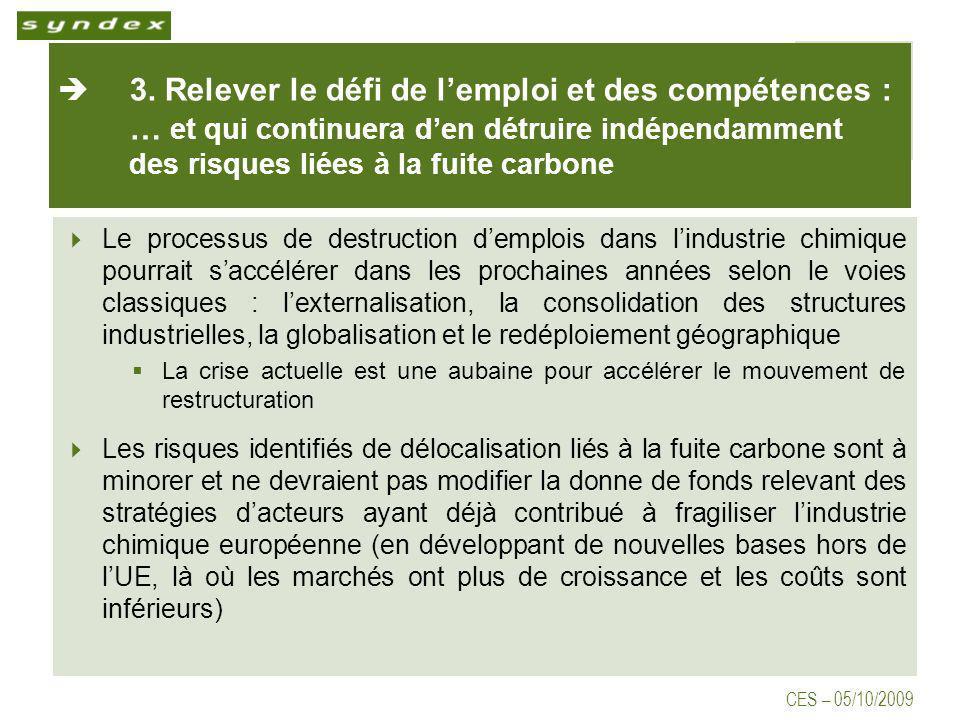 CES – 05/10/2009 3.