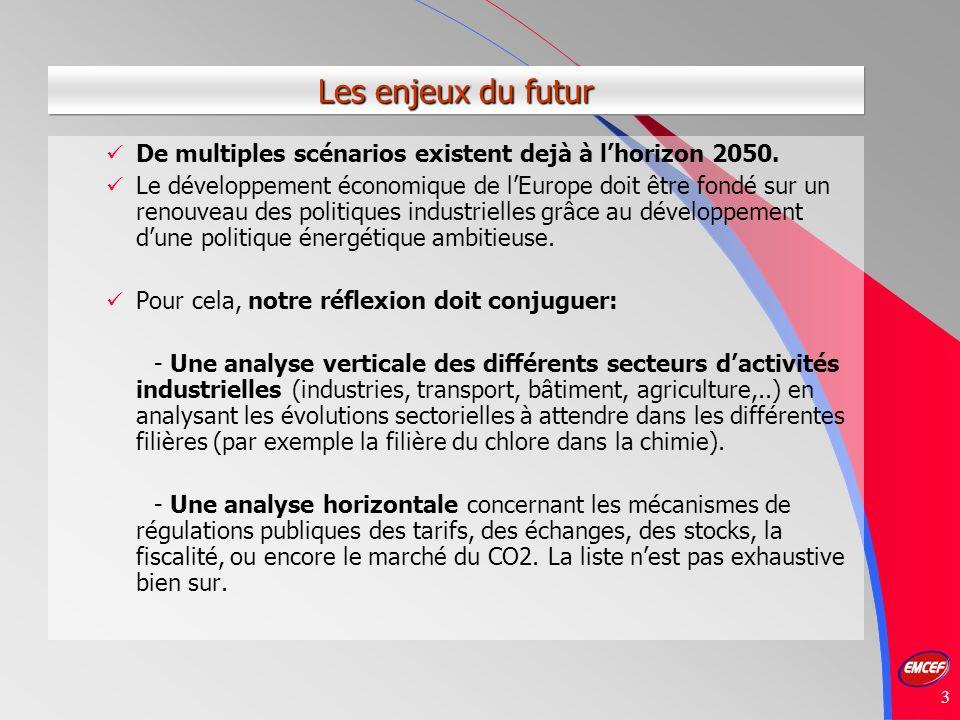 3 Les enjeux du futur De multiples scénarios existent dejà à lhorizon 2050.