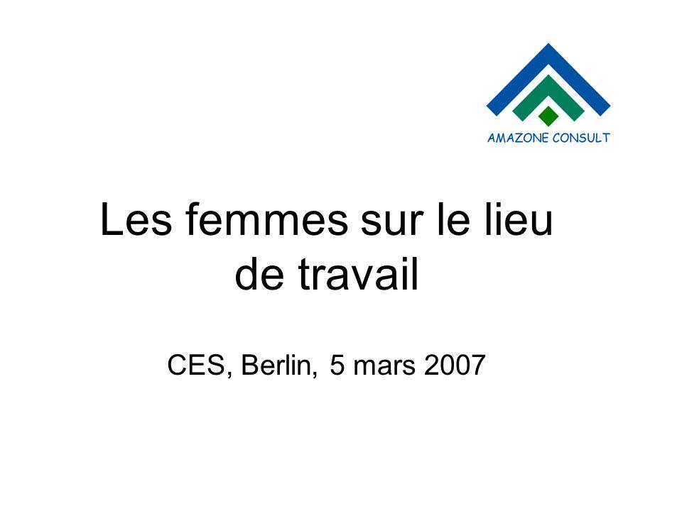 Les femmes sur le lieu de travail CES, Berlin, 5 mars 2007