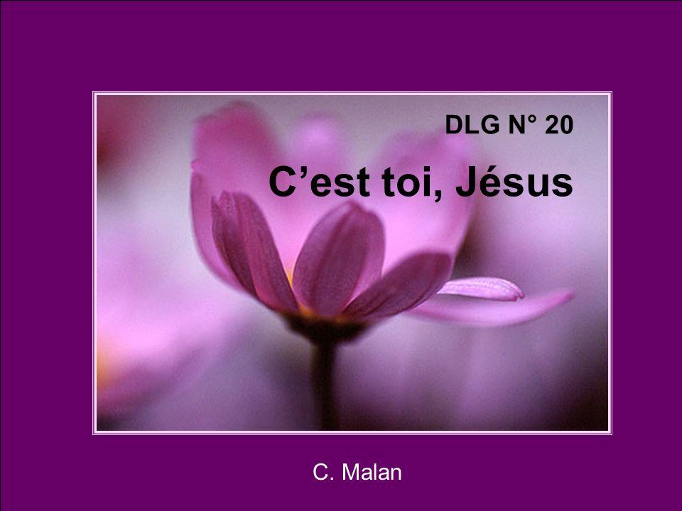 C. Malan DLG N° 20 Cest toi, Jésus