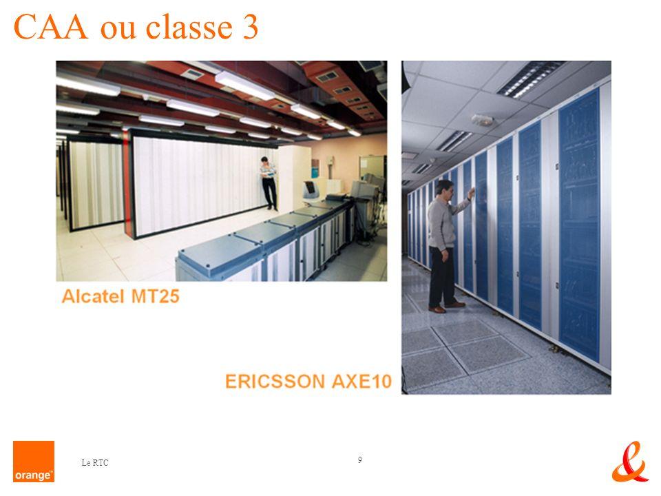 9 Le RTC CAA ou classe 3