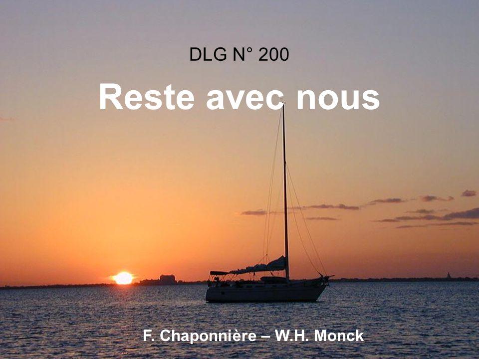DLG N° 200 Reste avec nous F. Chaponnière – W.H. Monck