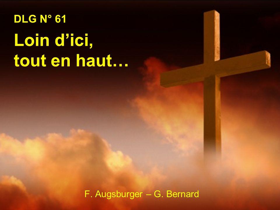 1.Loin dici, tout en haut Est plantée une croix, Instrument de torture et deffroi; Et pourtant, savez-vous.