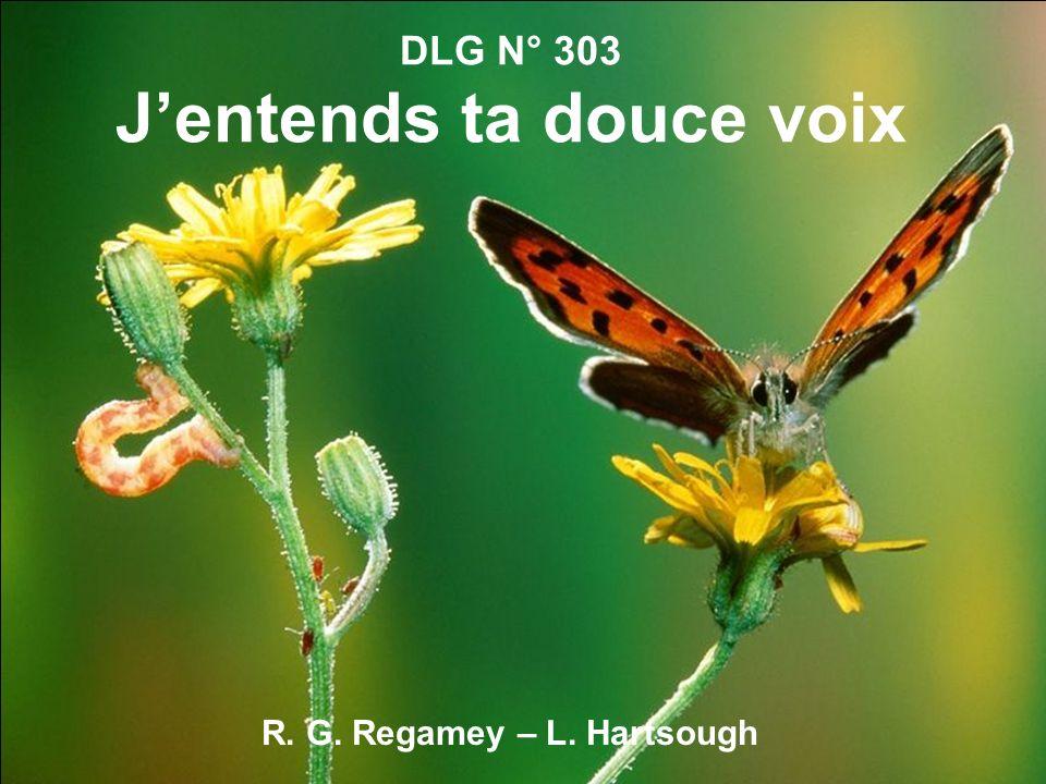 DLG N° 303 Jentends ta douce voix R. G. Regamey – L. Hartsough