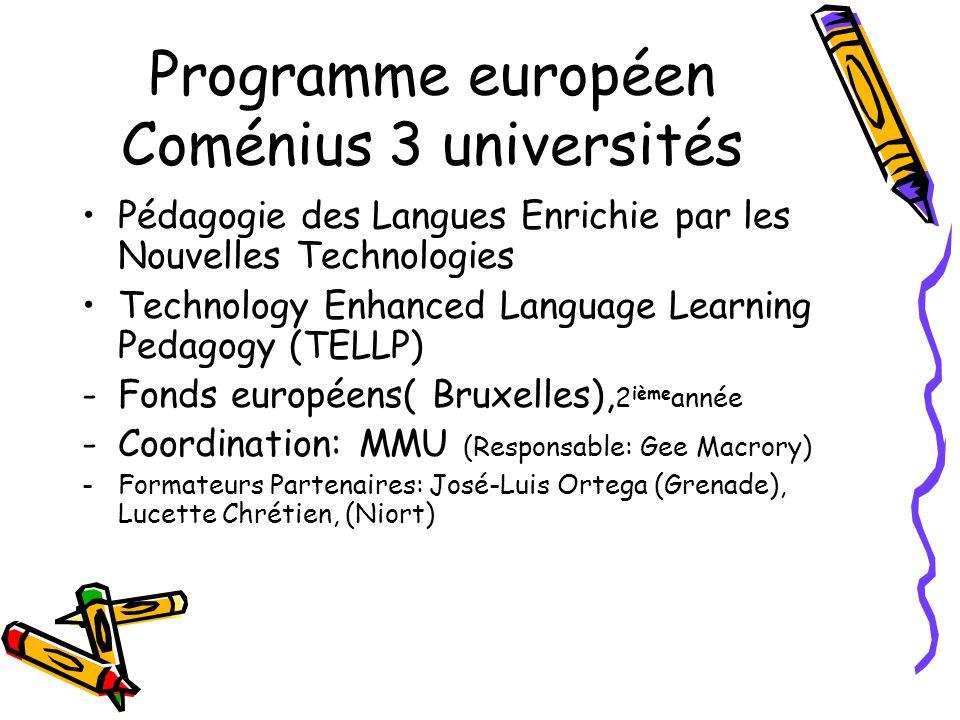 OBJECTIFS offrir un contexte innovant OBJECTIFS: Offrir aux professeurs stagiaires un contexte pédagogique innovant pour lenseignement des langues à lécole qui met en valeur: - Une approche holistique et interdisciplinaire - Une intégration de la langue dans les programmes - Les langues au quotidien - Une approche interculturelle - Lutilisation dune technologie de pointe