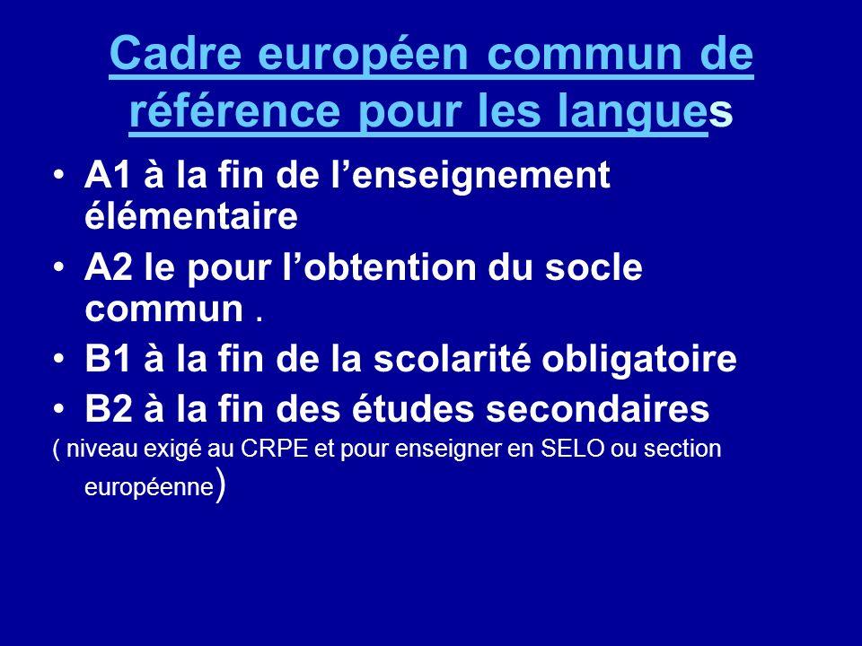 Une priorité dans lAcadémie de Poitiers Priorité 3 - Objectif 2 Priorité 3 : Favoriser l ouverture de l École sur le monde Objectif 2 : Ouvrir l école sur l Europe et l international Orientations pédagogiques spécifiques Développer la mise en place de la LV1 dès l entrée à l école élémentaire.