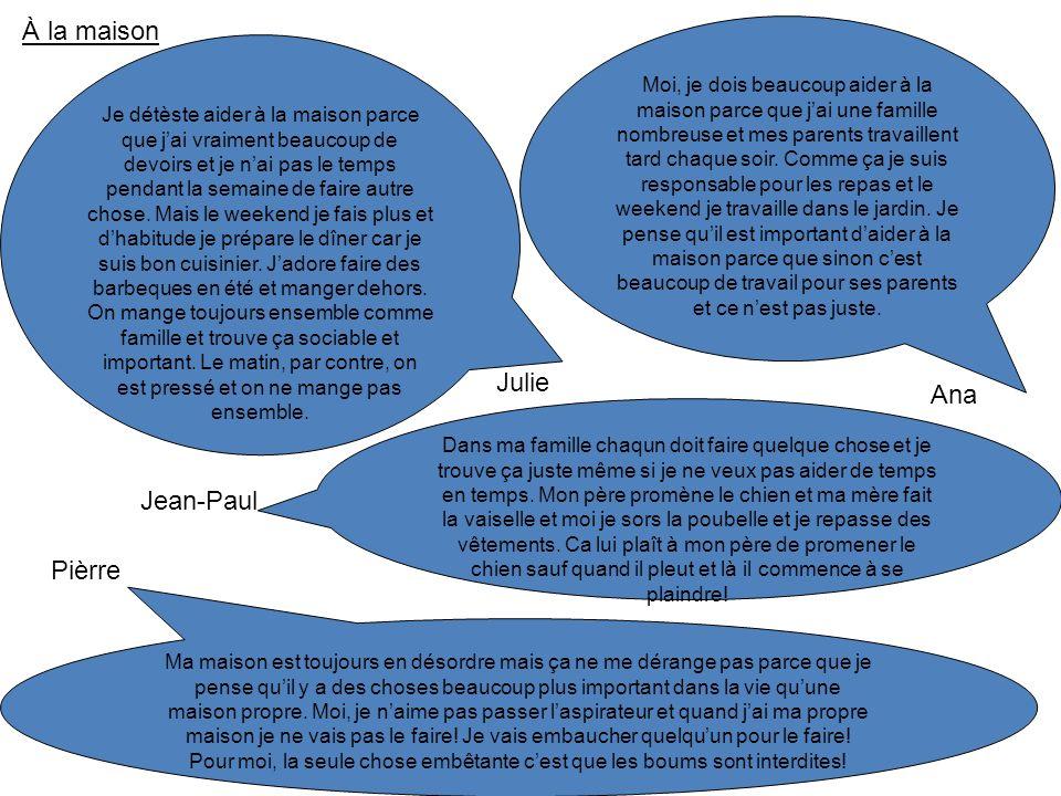le passé cest ……………… pronom + avoir + verbe Exemple: J ai jouédansémangé -er verbs add: émangédebarrassé vidé -ir verbs add: isorti irregular verbs must be learnt.
