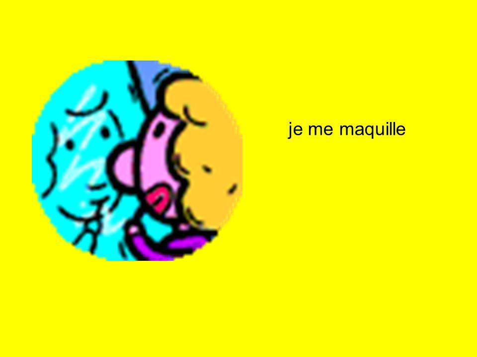 je me maquille