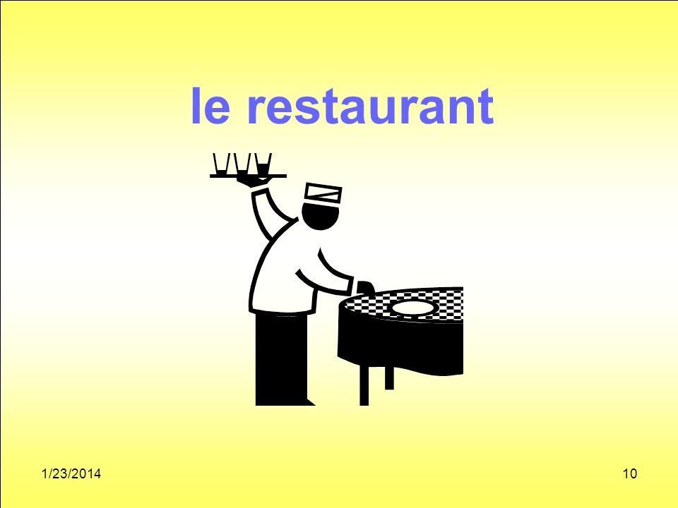1/23/201410 le restaurant