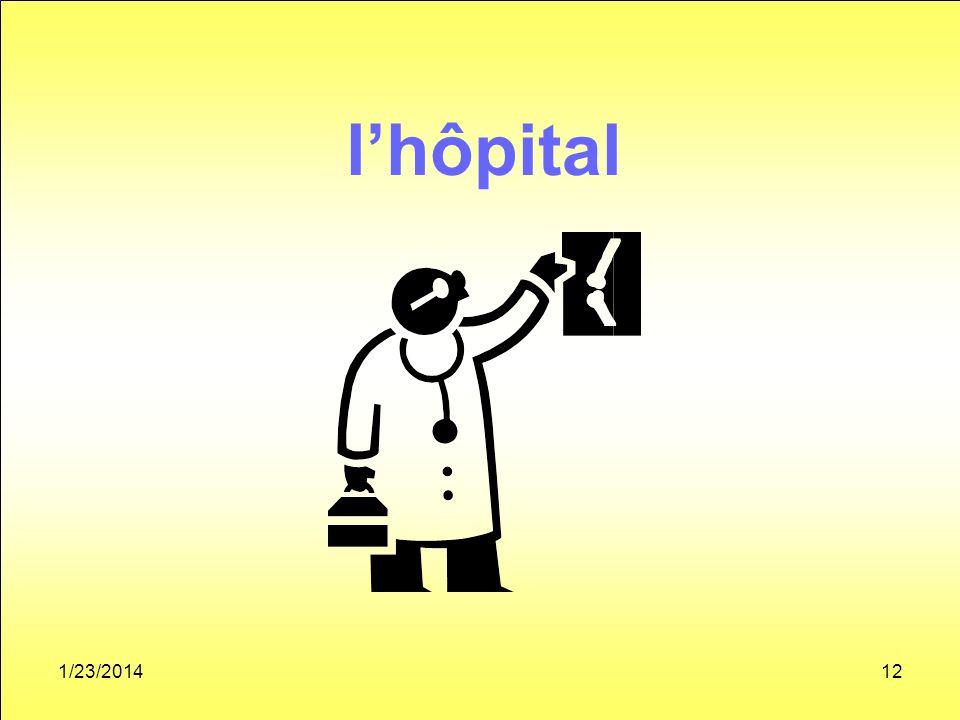 1/23/201412 lhôpital
