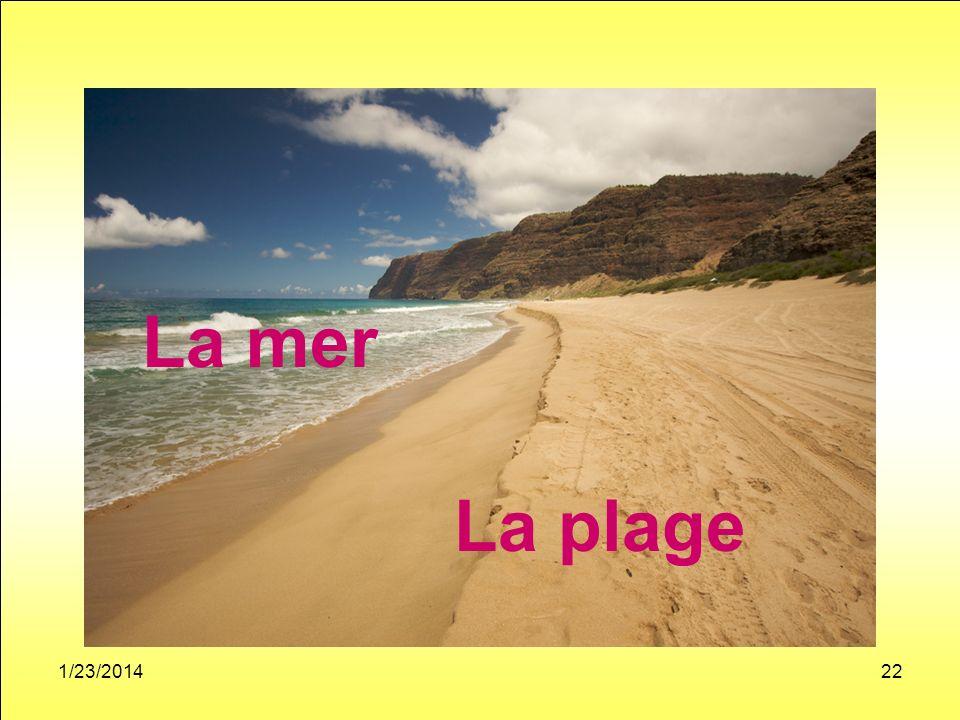 1/23/201422 La mer La plage