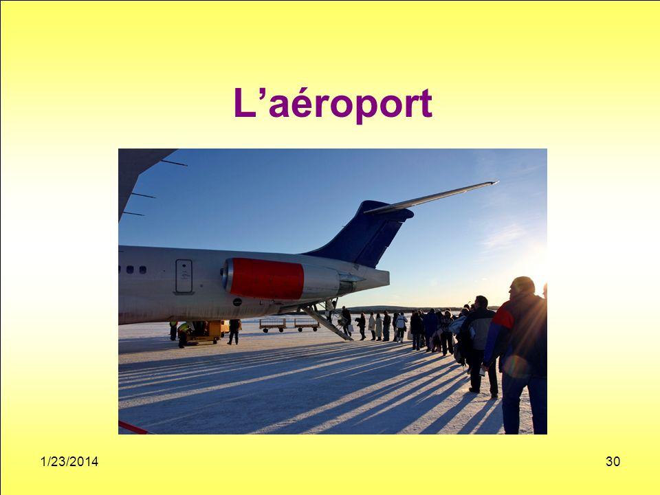 Laéroport 1/23/201430