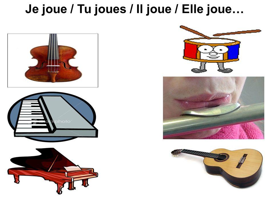 Jouer à vs jouer de au Je joue à la à l au Je joue à la à l du Je joue de la de l du Je joue de la de l football piano flûte Pourquoi les trois formes.