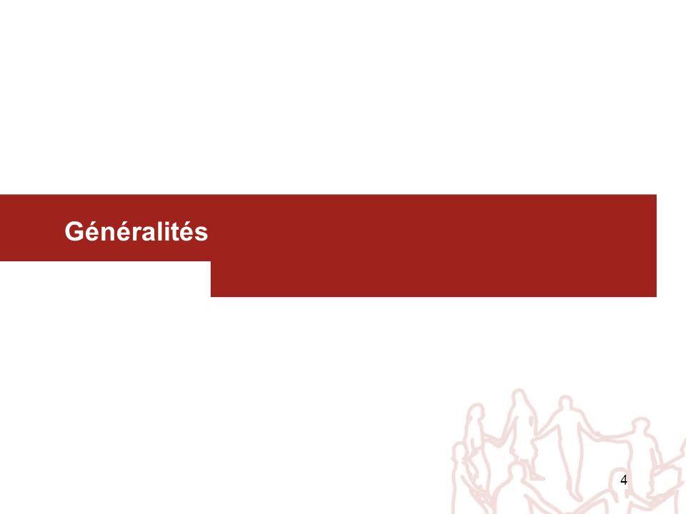 4 Généralités