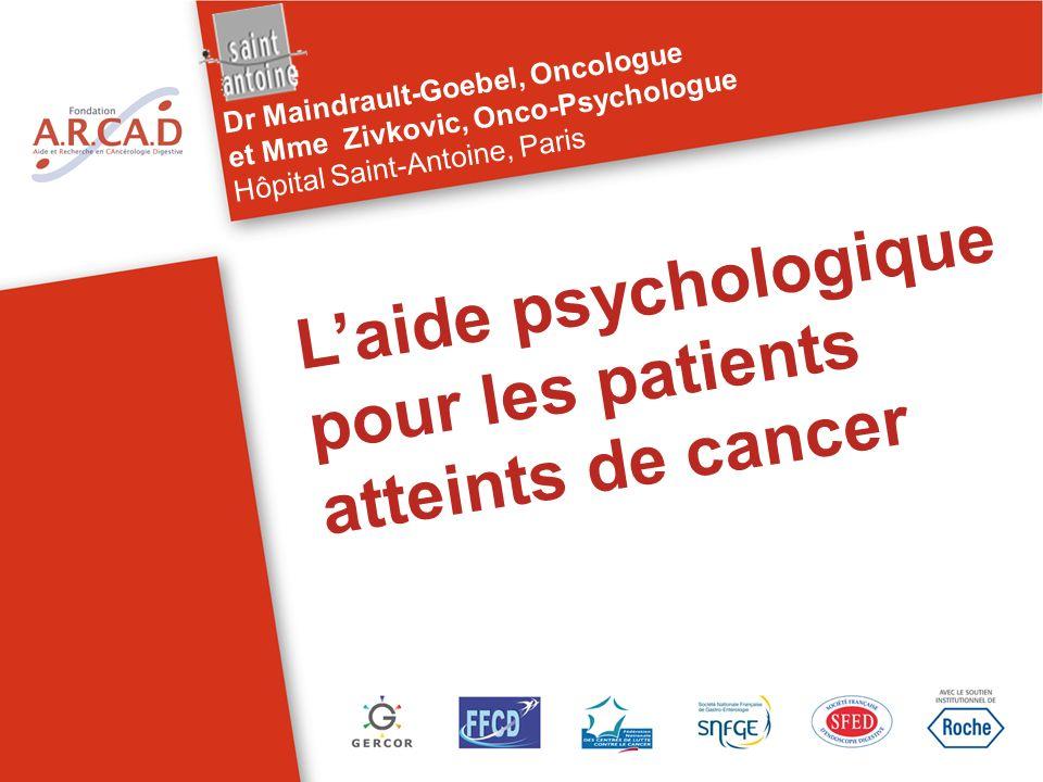 Partie 1 Les psychologues formés ou spécialisés » : une aide précieuse pour le patient, ses proches, et les soignants… à ne pas négliger.