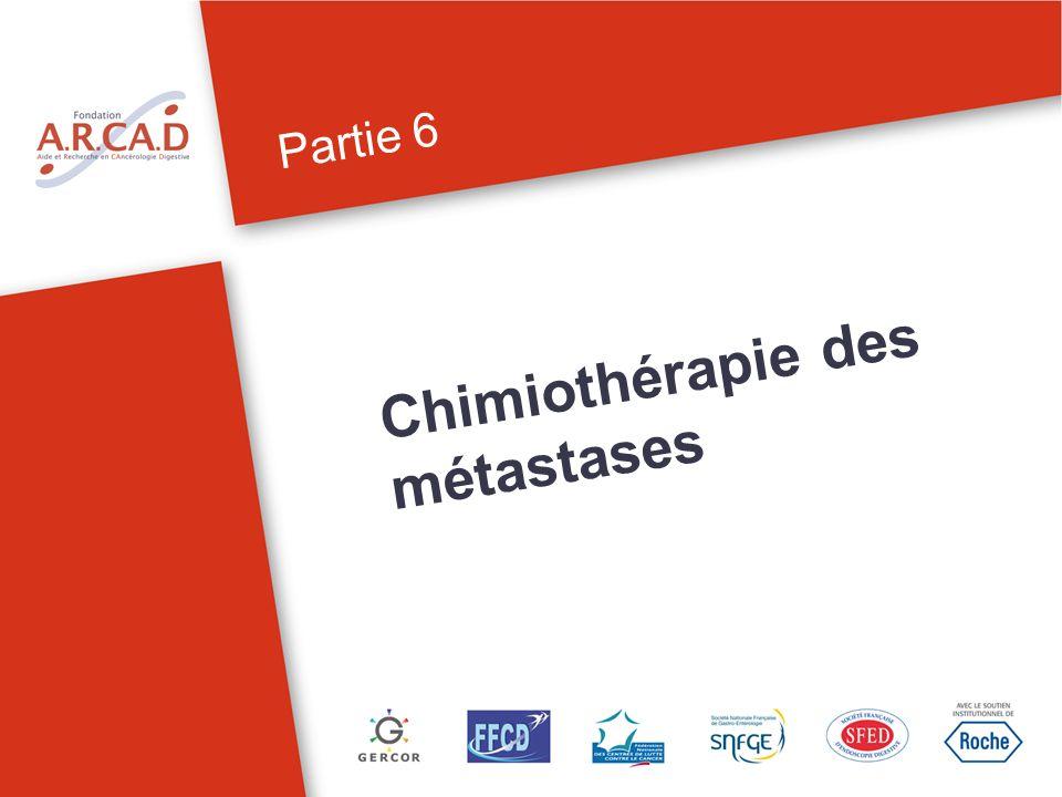 Chimiothérapie des métastases Partie 6