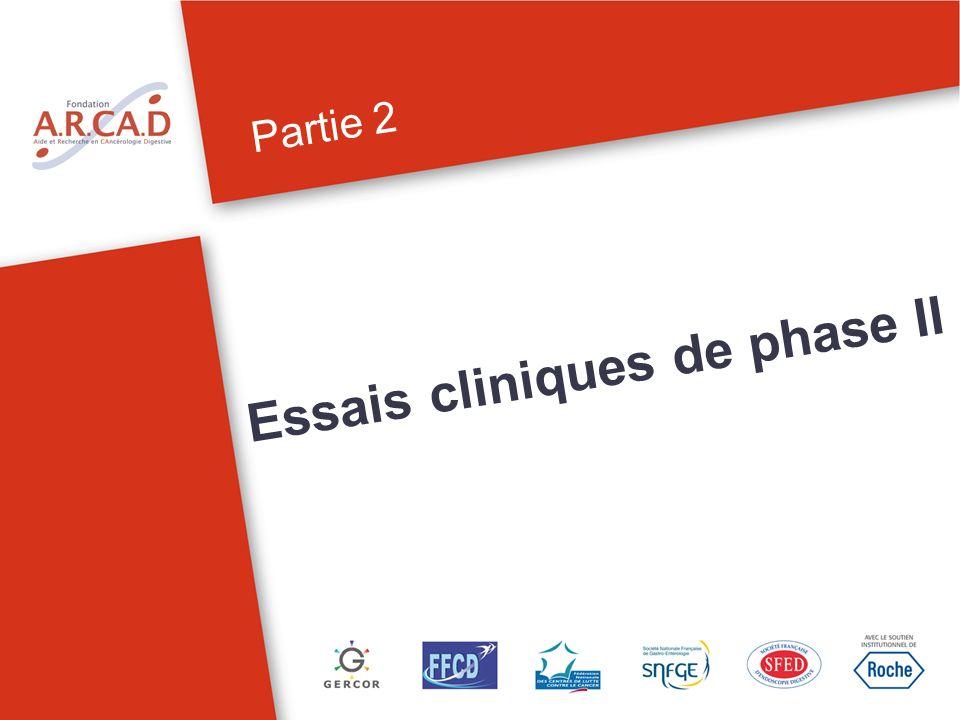 Partie 2 Essais cliniques de phase II