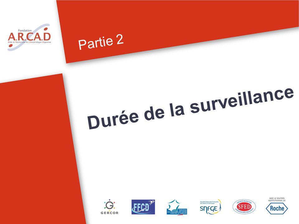 Partie 2 Durée de la surveillance