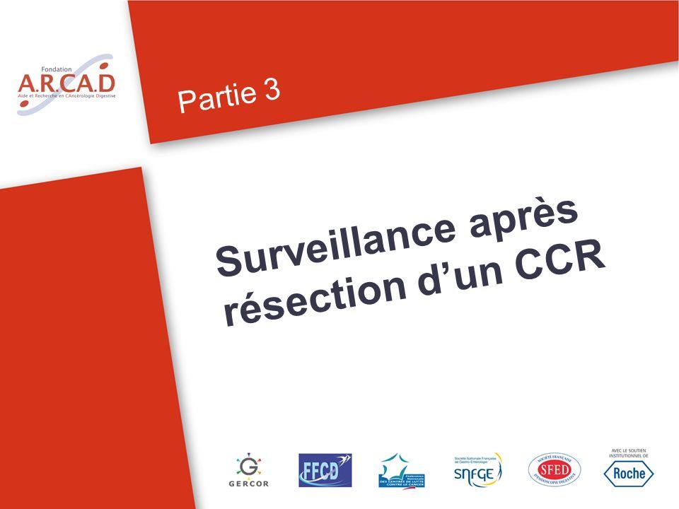 Partie 3 Surveillance après résection dun CCR