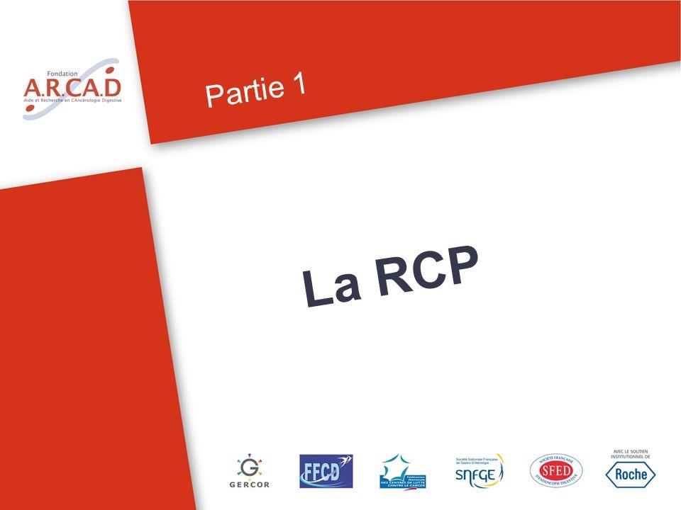 Partie 1 La RCP