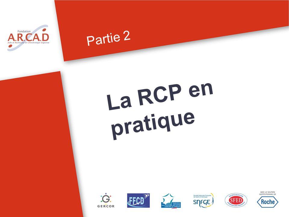 Partie 2 La RCP en pratique