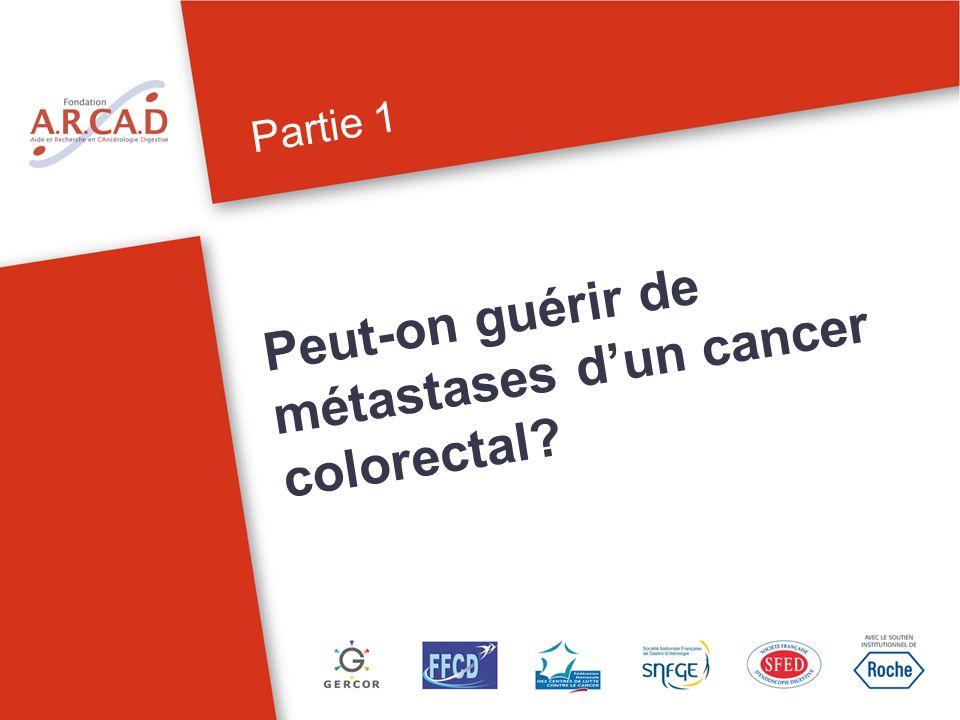 Partie 1 Peut-on guérir de métastases dun cancer colorectal.
