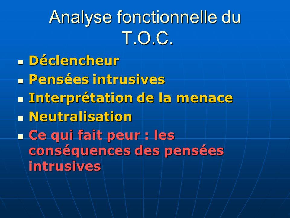 Analyse fonctionnelle du T.O.C.