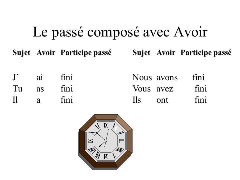Le futur immédiat Conjuguez le verbe aller + linfinitif du verbe principal