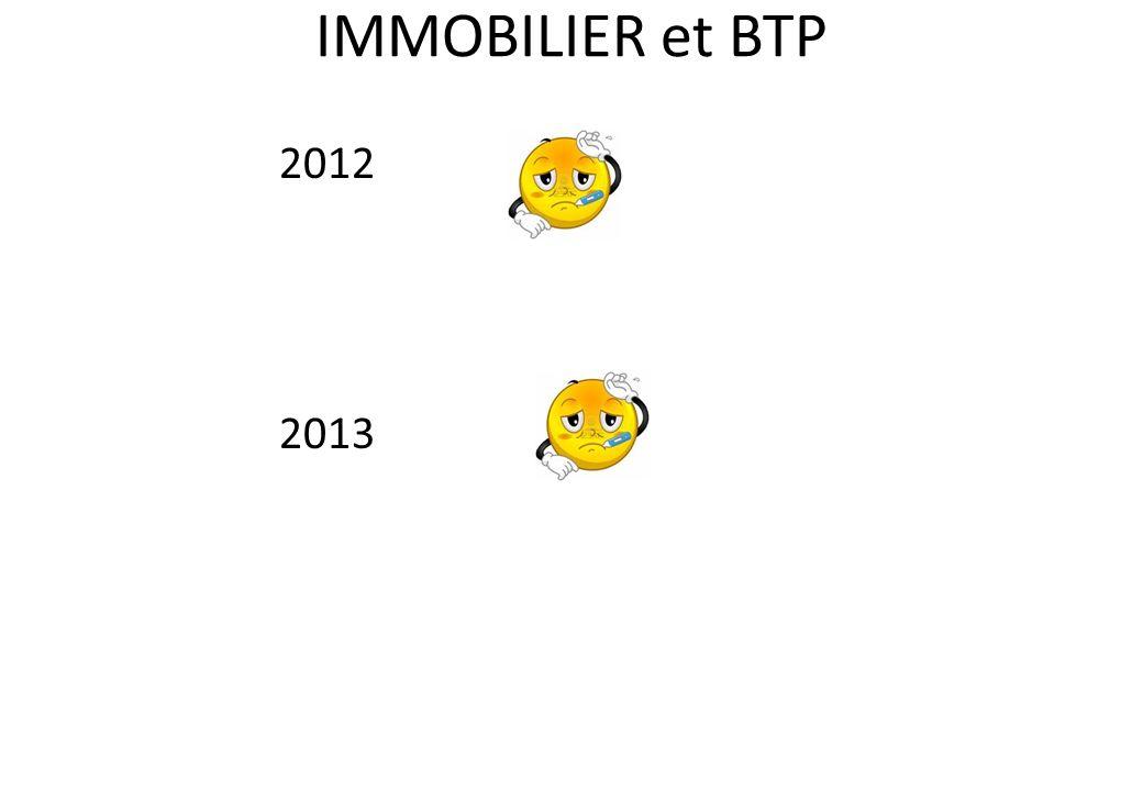 IMMOBILIER et BTP 2012 2013