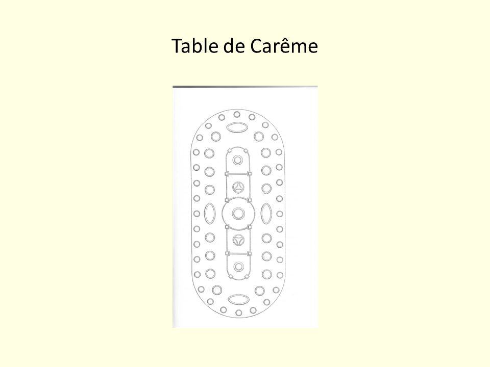 Table de Carême