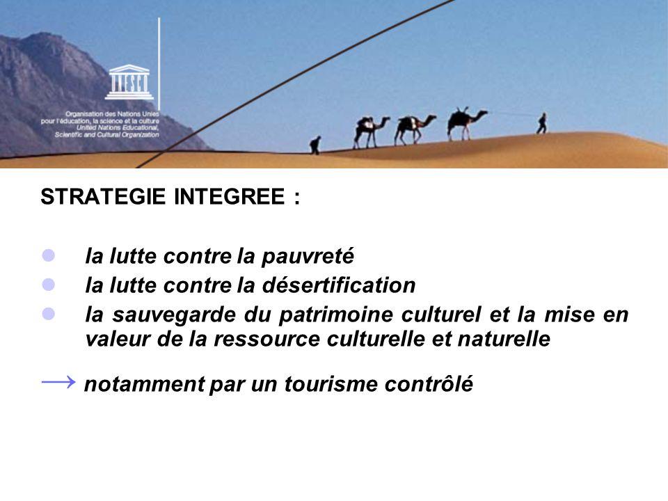 LES 3 ETAPES DU PROGRAMME: 2002 – 2003 : Conception de la stratégie, du Plan daction, dun réseau dexperts (Sidi Bou Saïd, Tunisie, Ghardaïa, Algérie), réunions des Délégations permanentes, équipe intersectorielle de lUNESCO et équipe de 7 consultants des pays du Sahara.