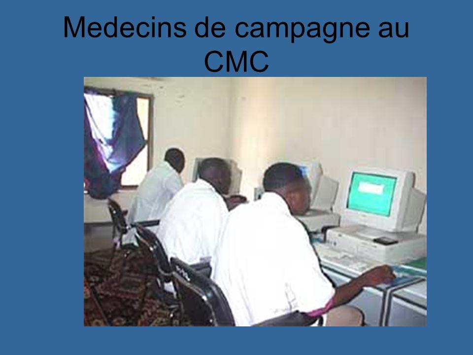 Medecins de campagne au CMC