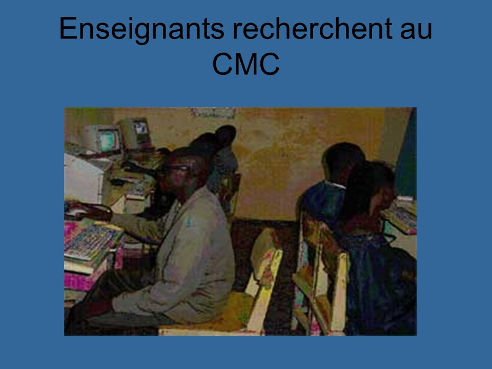 Enseignants recherchent au CMC