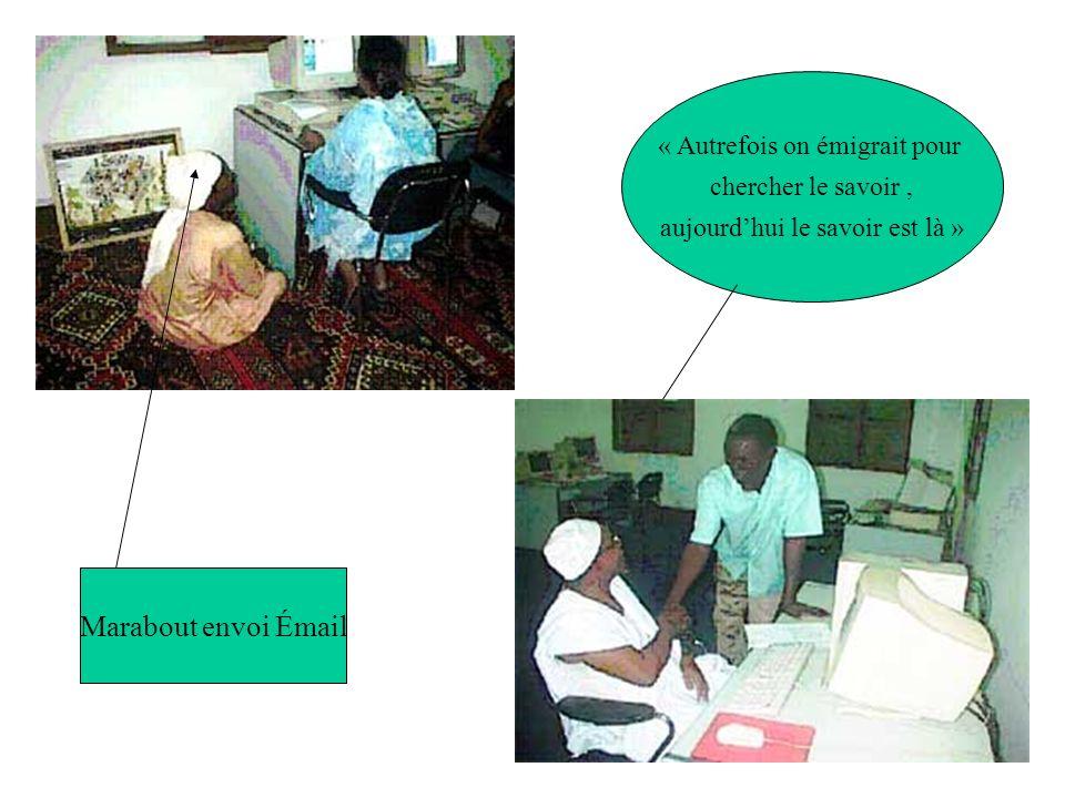 Difficultés des CMC en Afrique La barrière linguistique La non permanence de la connectivité à linternet Coût initial pour convaincre le monde rural dutiliser les NTIC à travers le développement dapplications pertinentes Les taxes sur les équipements informatiques et télécom