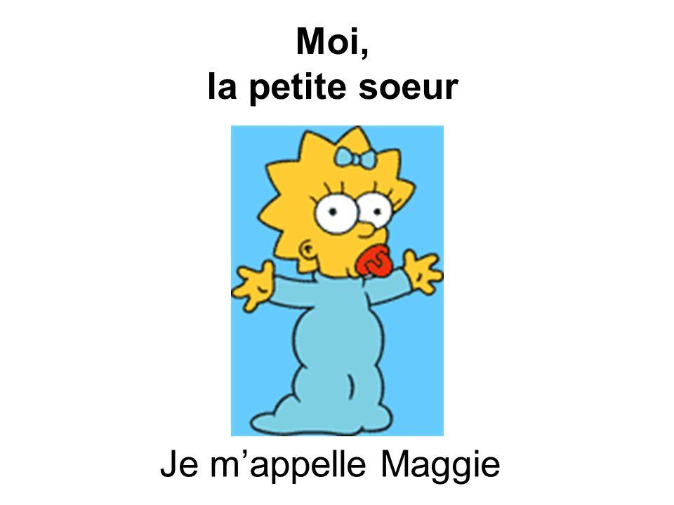 Grandma Bouvier est la ______________ de Maggie. grand-mère