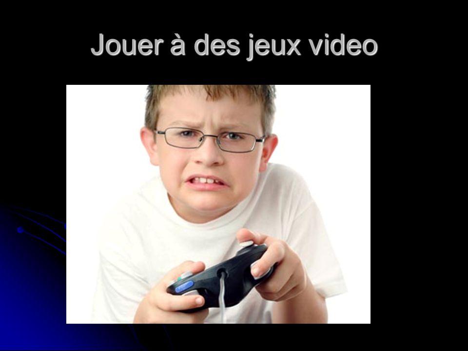 Jouer à des jeux video