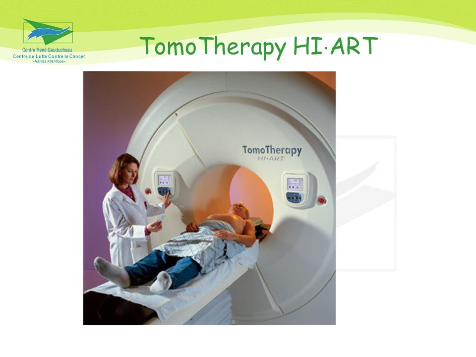 Centre de Lutte Contre le Cancer –Nantes Atlantique– Radiothérapie guidée par limage (IGRT) Le principe physique est celui du scanner hélicoïdal en imagerie.