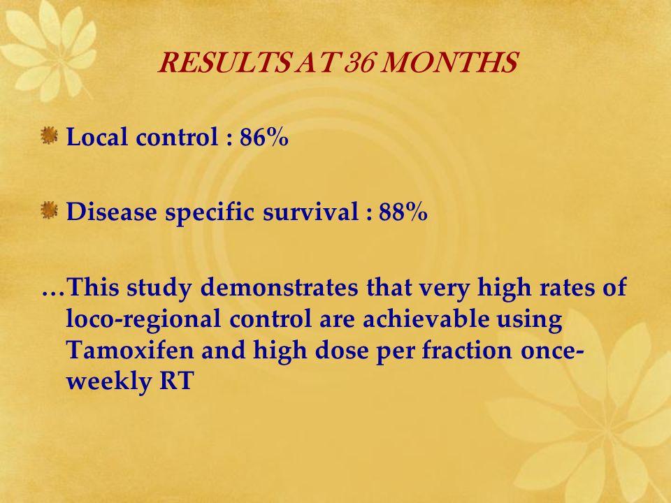 METHODE : Recueil prospectif entre 02/2006 et 03/2007 de toutes les patientes recevant à lIC une RT mammaire adjuvante de 42,9 Gy en 13 fractions (3.3 Gy/f – 3 sem.) et 5 semaines POPULATION : - 81 patientes de 40 à 83 ans (age médian : 70 a) - T0 : 53- T2 : 5 - T1 : 21- T3T4 : 2 - Pas de CT ou HT concomitante - 17 TTS en DD et 64 en D2