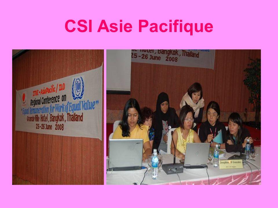 CSI Asie Pacifique