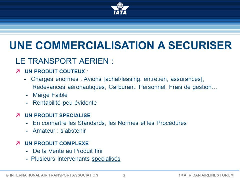 2 LE TRANSPORT AERIEN : UN PRODUIT COUTEUX : - Charges énormes : Avions [achat/leasing, entretien, assurances], Redevances aéronautiques, Carburant, P