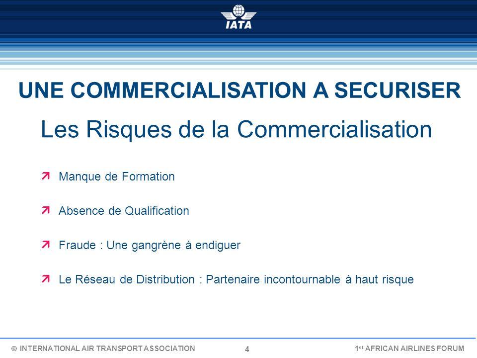 4 Les Risques de la Commercialisation Manque de Formation Absence de Qualification Fraude : Une gangrène à endiguer Le Réseau de Distribution : Parten