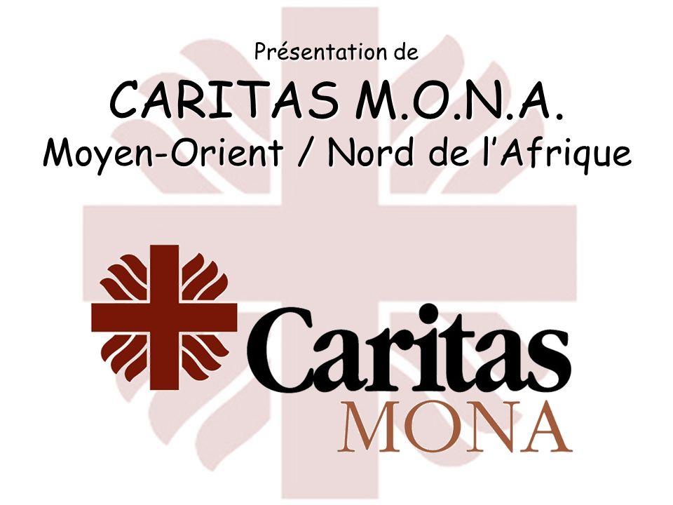 Présentation de CARITAS M.O.N.A. Moyen-Orient / Nord de lAfrique