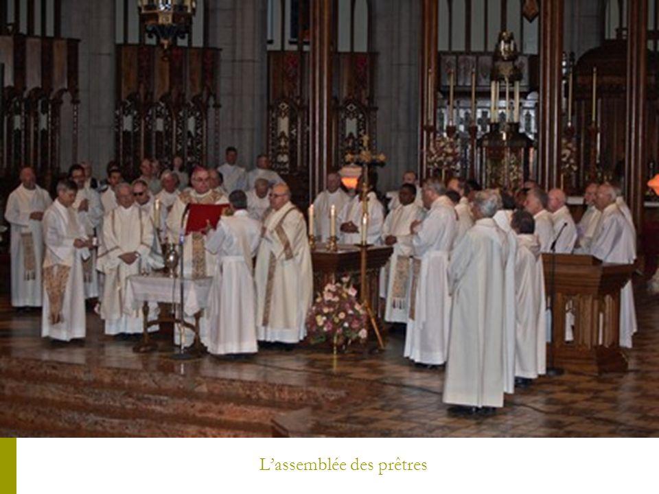 Lassemblée des prêtres
