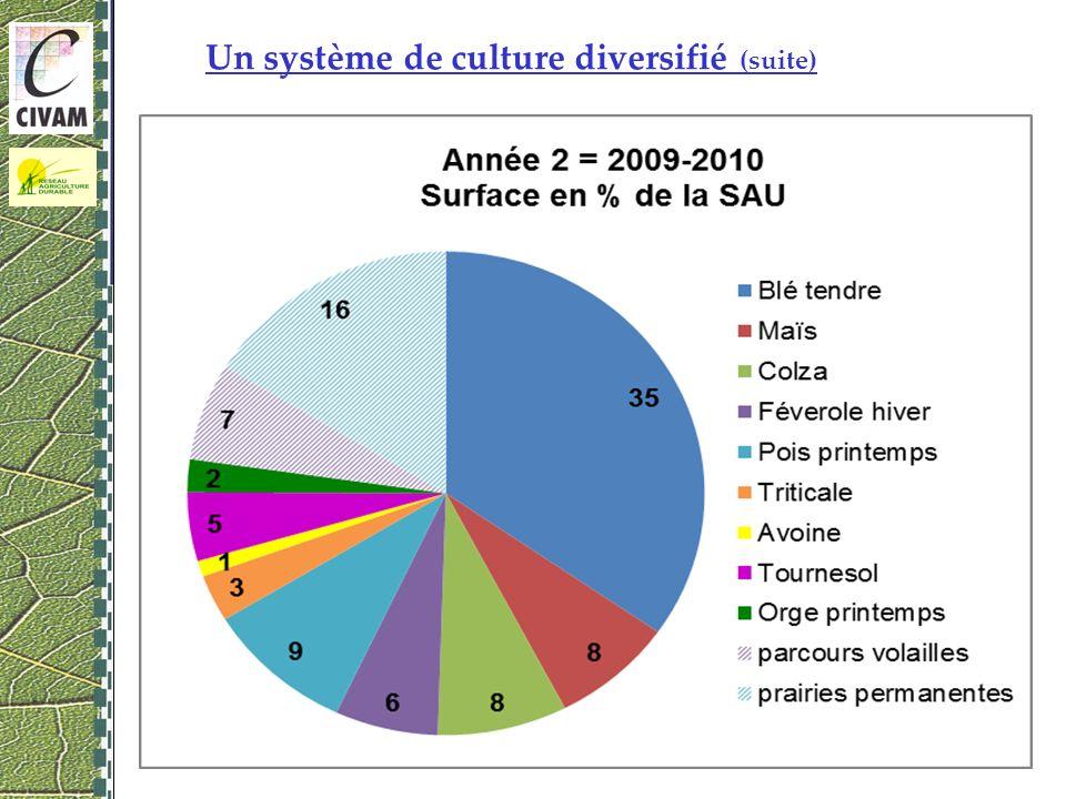 5 Un système de culture diversifié (suite) 08 décembre 2010 – Rouez en Champagne