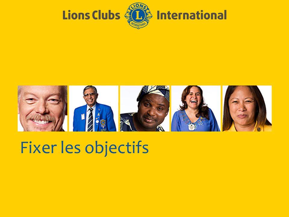 LIONS CLUBS INTERNATIONAL PROCESSUS D EXCELLENCE DE CLUB 5 Déclarations dobjectif efficaces Précises Mesurables Réalisables Réalistes Limitées par le temps