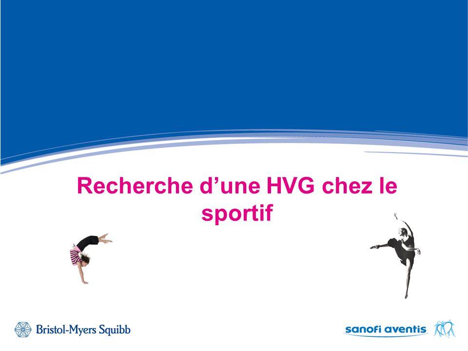ECG avec HVG chez un sportif