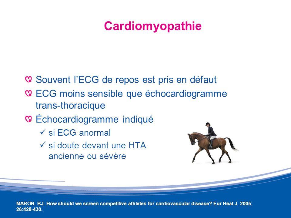 HTA et sport Le surentraînement accentue lHTA voire peut la provoquer Lentraînement en endurance réduit la TA de quelques mm de Hg, renforçant lefficacité du traitement médical HADBERG J-M et al.