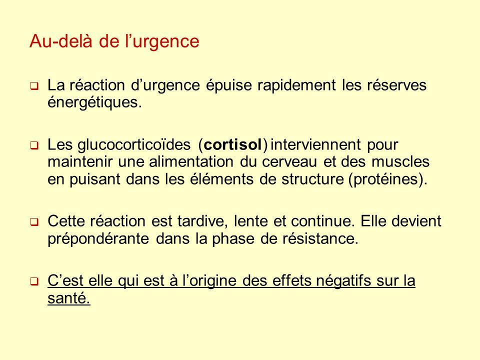 C - Prolongements : 1 - Les stratégies de désengagement 2 - Les effets de lactivité