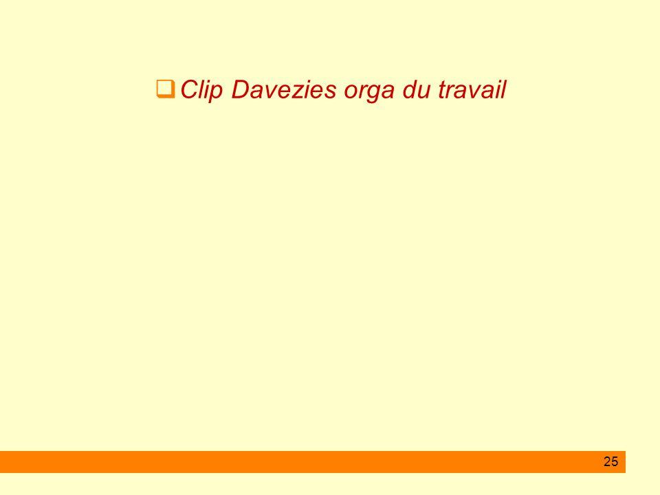 25 Clip Davezies orga du travail