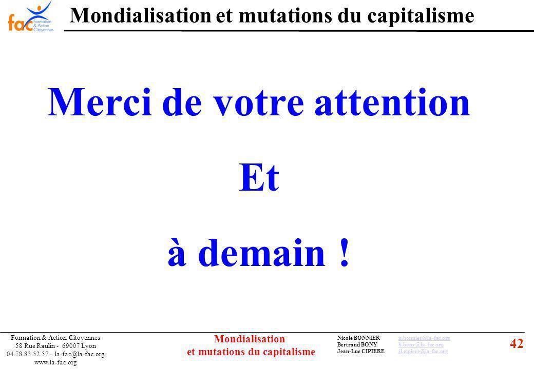 42 Formation & Action Citoyennes 58 Rue Raulin - 69007 Lyon 04.78.83.52.57 - la-fac@la-fac.org www.la-fac.org Nicole BONNIERn.bonnier@la-fac.orgn.bonn